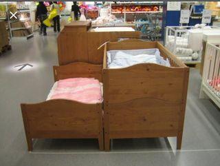 CUNA IKEA DIKTAD Y SU COLCHON