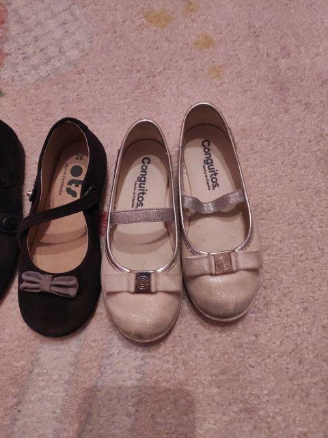 3 pares de zapatos niña