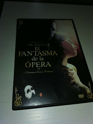 el fantasma de la opera dvd