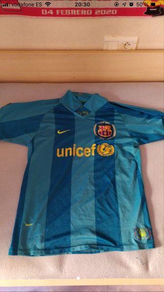Camiseta futbol barça 2007 messi
