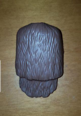 playmobil capa simulando piel marrón vikingo