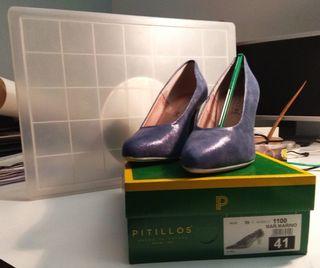 zapato salon pitillos