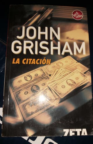 libro novela La citacion