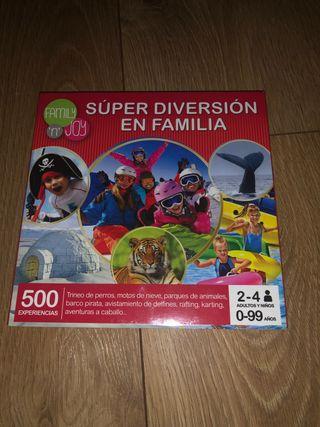 súper diversión en familia
