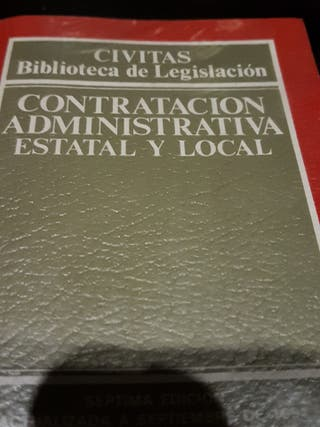 Contratación administrativa estatal y local