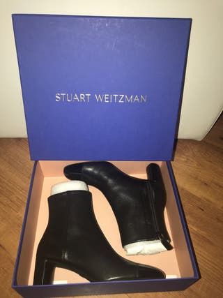 Botin Stuart Weitzman negro T36