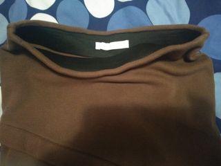 Falda marrón tierra