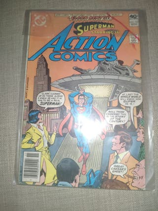 Comic Action Comics Superman nº 501