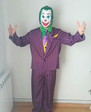 Disfraz Joker con mascara