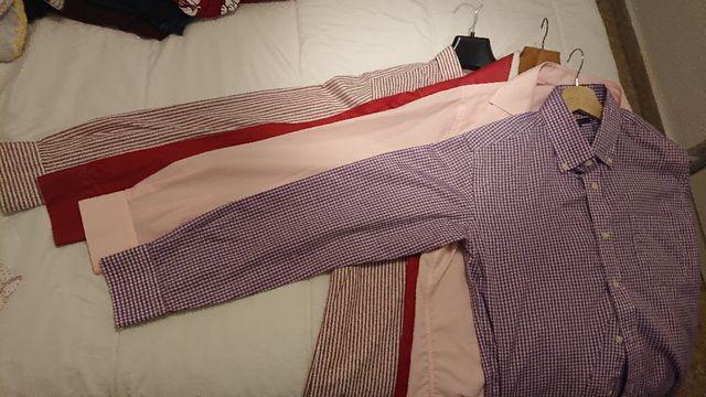 Lote CINCO camisas caballero