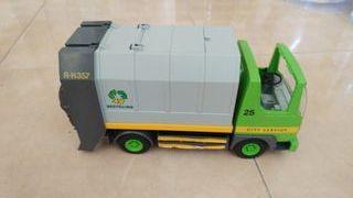 Camion de basura de playmobil