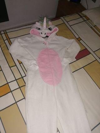 Pijama-mono unicornio