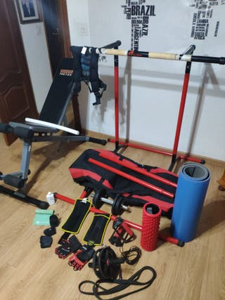 Pull and mate gym set dominadas