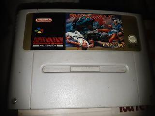 Street Fighter II Snes Pal Super nintendo Cartucho