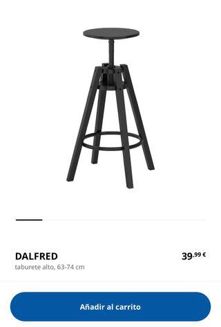 Taburete diseño IKEA