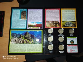 Colección de monedas peruana