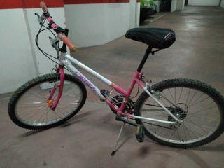 Bicicleta niña talla mediana