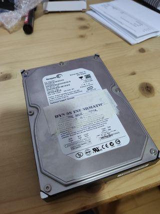 Lote 2 discos duros SATA Seagate 450gb total