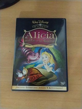 DVD Alicia en el país de las maravillas+fábulas