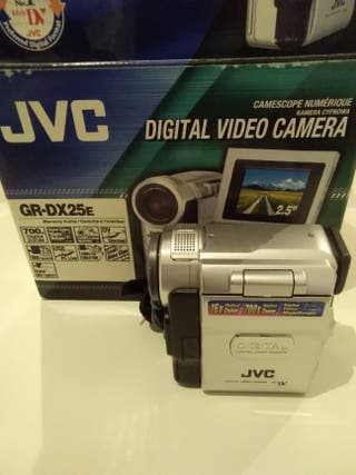 Cámara video JVC GR-DX25
