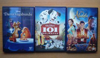 Películas DVD Disney