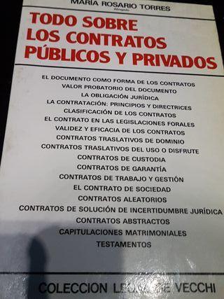 Todo sobre los contratos públicos y privados