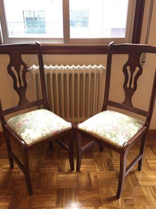 2 sillas nuevas