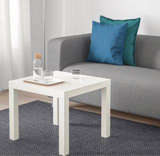 Mesa auxiliar de ikea - mesilla blanca
