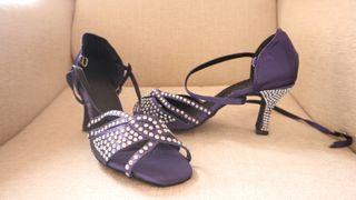 Zapatos de baile Salsa/Bachata/kizomba diamante