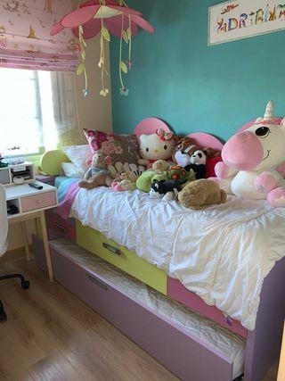 Dormitorio completo infantil
