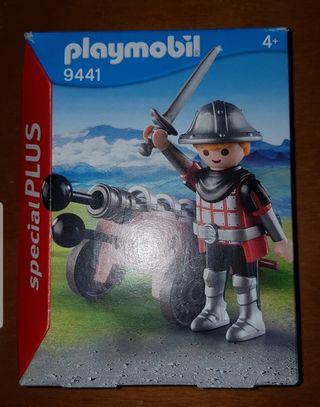 playmobil soldado romano con cañón Ref 9441