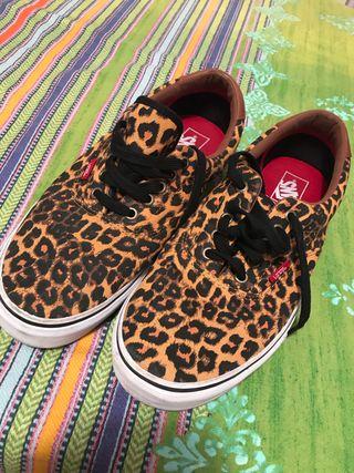 Vans leopardo 44/45