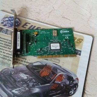 tarjeta puerto SCSI slot PCI