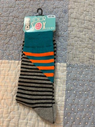 Calcetines de rallas largos