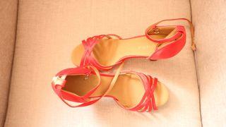 Zapatos de baile Salsa/Bachata/kizomba rojo