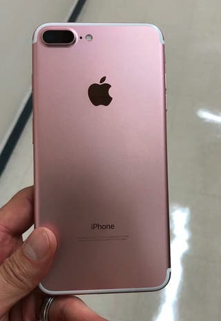 Iphone 7 plus rosa