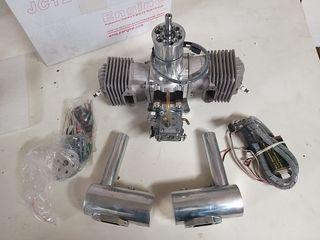 Avion - motor jc evo 120cc - aeromodelismo