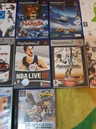 lote de juegos PlayStation 2