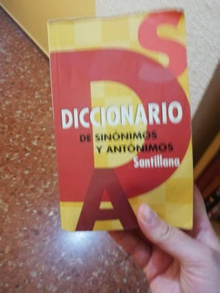 diccionario sinónimos y antónimos español