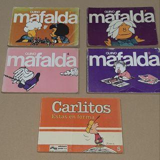 Cómics Tiras de MAFALDA Quino LOTE
