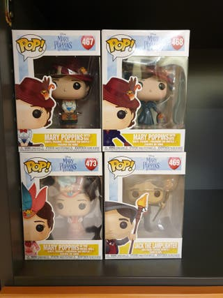 Pack 4 Funko Pop! Mary Poppins Live Action