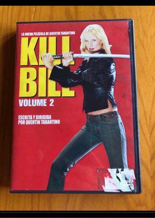 Kill Bill volumen 2 en dvd