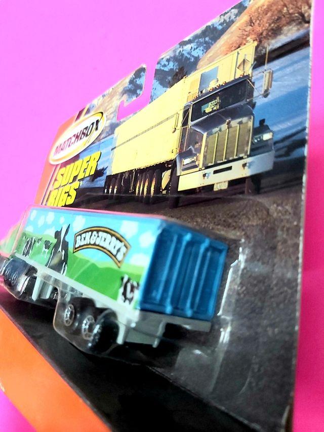 Camión Super Rigs de Matchbox Nuevo!