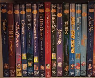 Colección Películas Disney en DVD