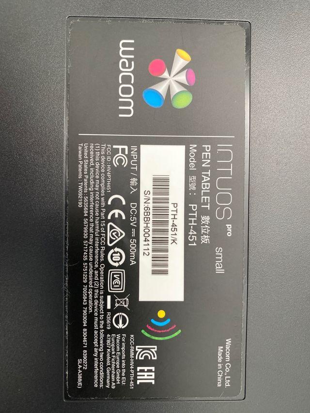 Wacom Intuos Pro S - Tableta gráfica inalámbrica