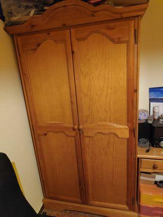 dormitorio completo madera pino maciza
