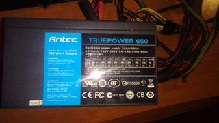 FUENTE DE ALIMENTACION GAMING ATX M TP650 650W.