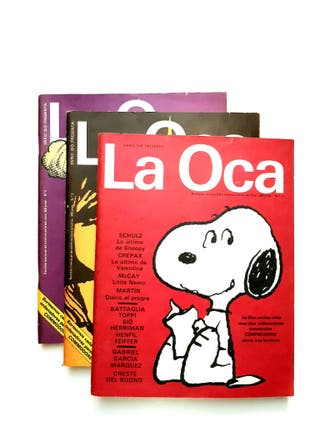 LA OCA. Cómics. Revista mensual para adultos 1985