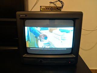 """televisión pequeña de 10"""" portatil con TDT"""