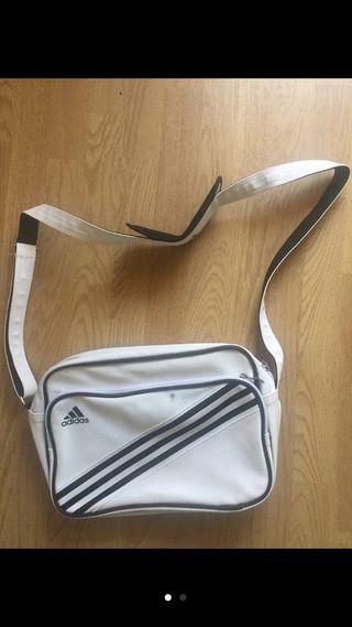 Bolso Adidas blanco